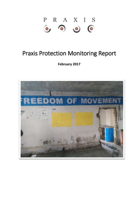 Praxis Protection Monitoring Report
