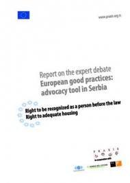 Report on Expert Debate European Good Practices: Advocacy Tool in Serbia